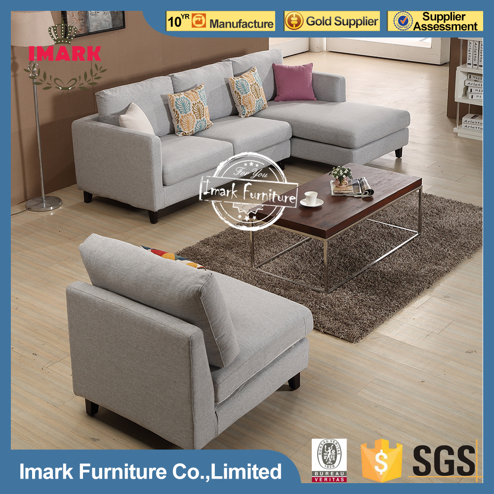Modern Fabric Couch Sets Living Room Sectional Sofa Furniture