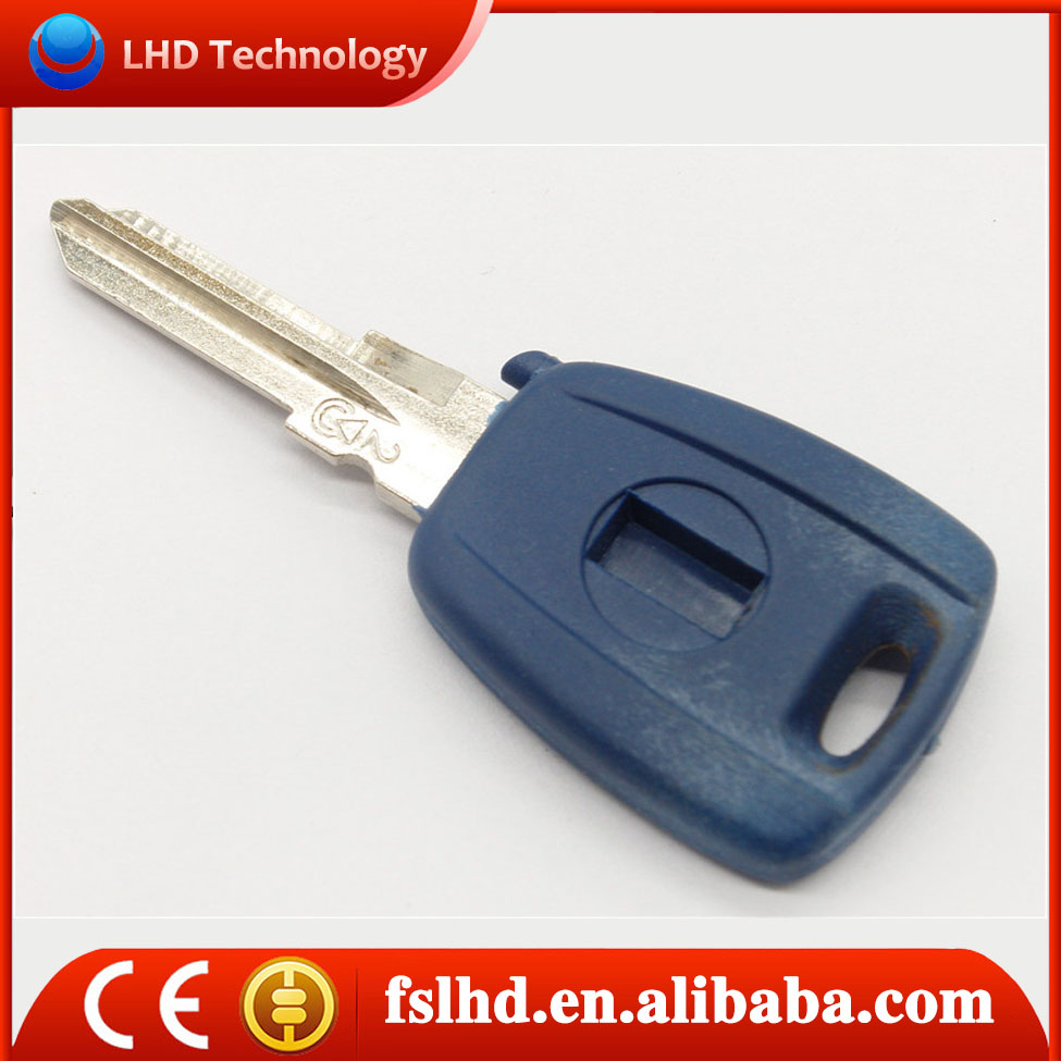 Hot sale car key transponder chip for Fiat blank key fobs with blue colors