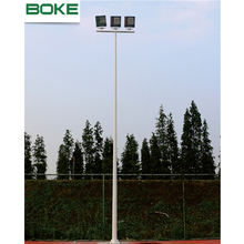 Factory supply cheap custom outdoor lamp post 10 meters folding street lighting pole