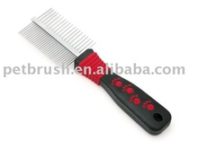 pet two sides steel comb