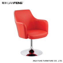 Directly factory cheap pu leather wood bar stools with metal frame
