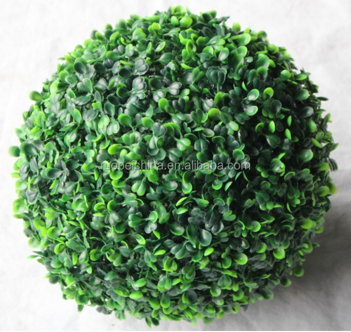 High Quality Customized Topiary Artificial Boxwood