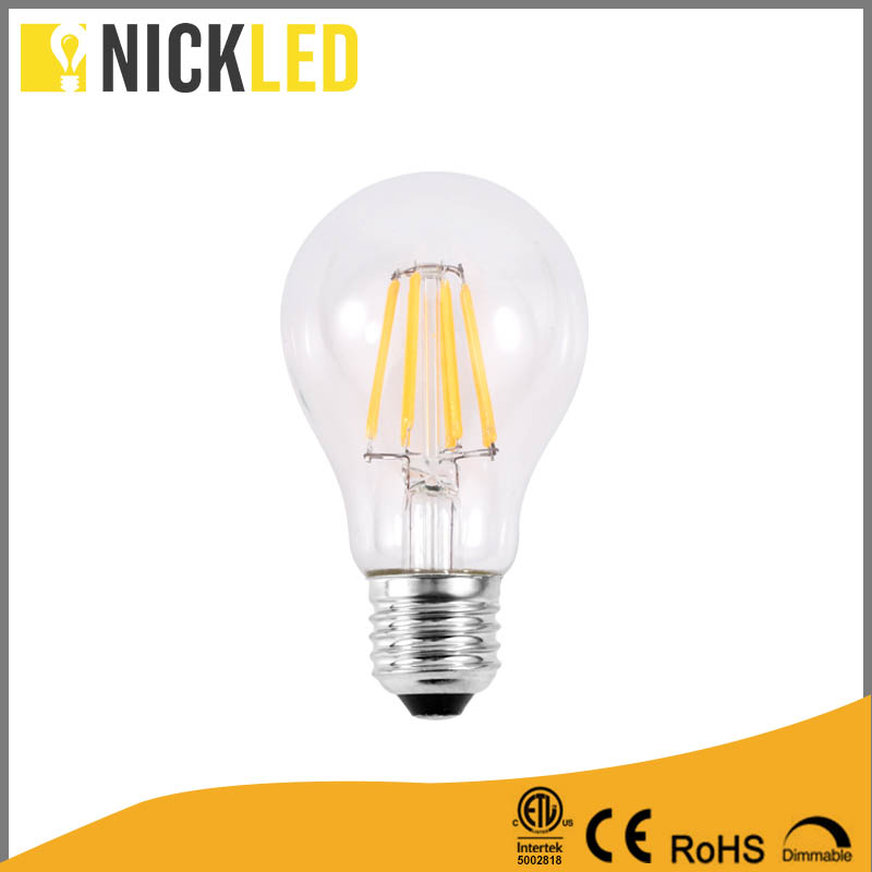 New product Hot sale A60 led bulb E26/E27/B22 LED 5w 7watt full-range dimming