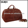 High Quality Italy Men Leather Travel Bag