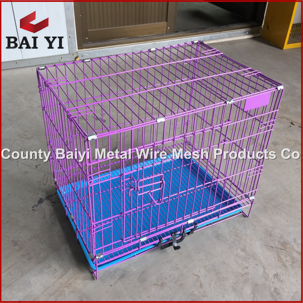 Outside Fancy Dog Kennels/Dog Cage with Plastic Pallet
