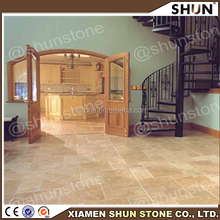 Iran Yellow Travertine Marble Composite Panels, decoration marble floor tiles, lowest price of yellow marble