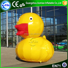 Big yellow inflatable duck rubber duck giant inflatable promotion duck