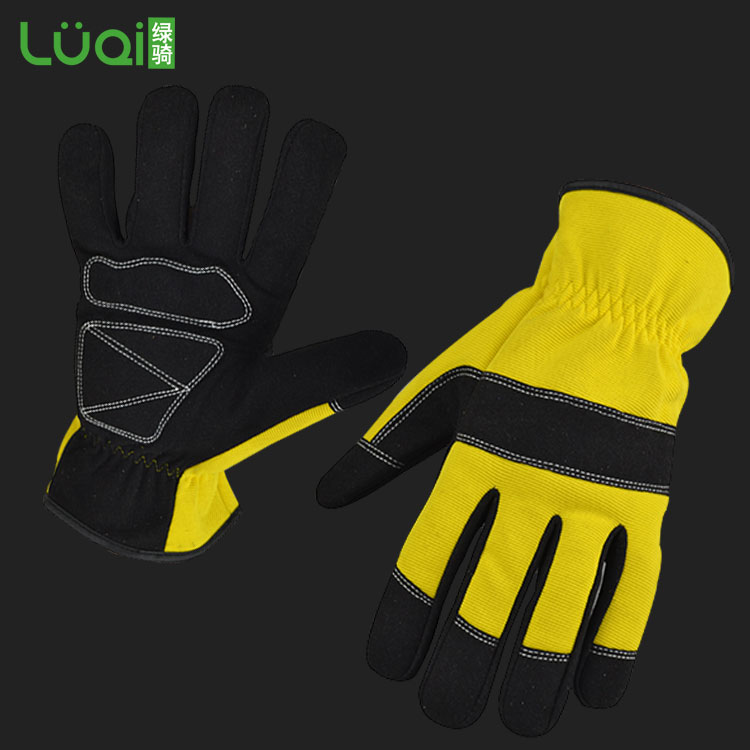 cheap leather work gloves