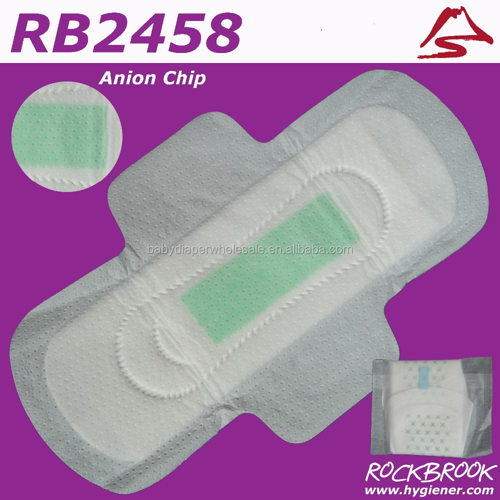 High Quality Competitive Price Sanitary Napkin With Negative Ion Manufacturer from China