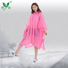 Superior Quality Reusable Disposable Rain Poncho With Logo Printed