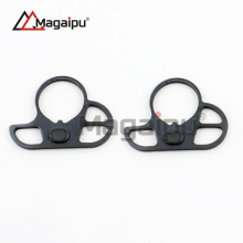 AR15 Dual loop Sling mount Adapter End Plate Right/Left Handed Mount for Ar 15 Stock Buffer Tube Sling Swivel