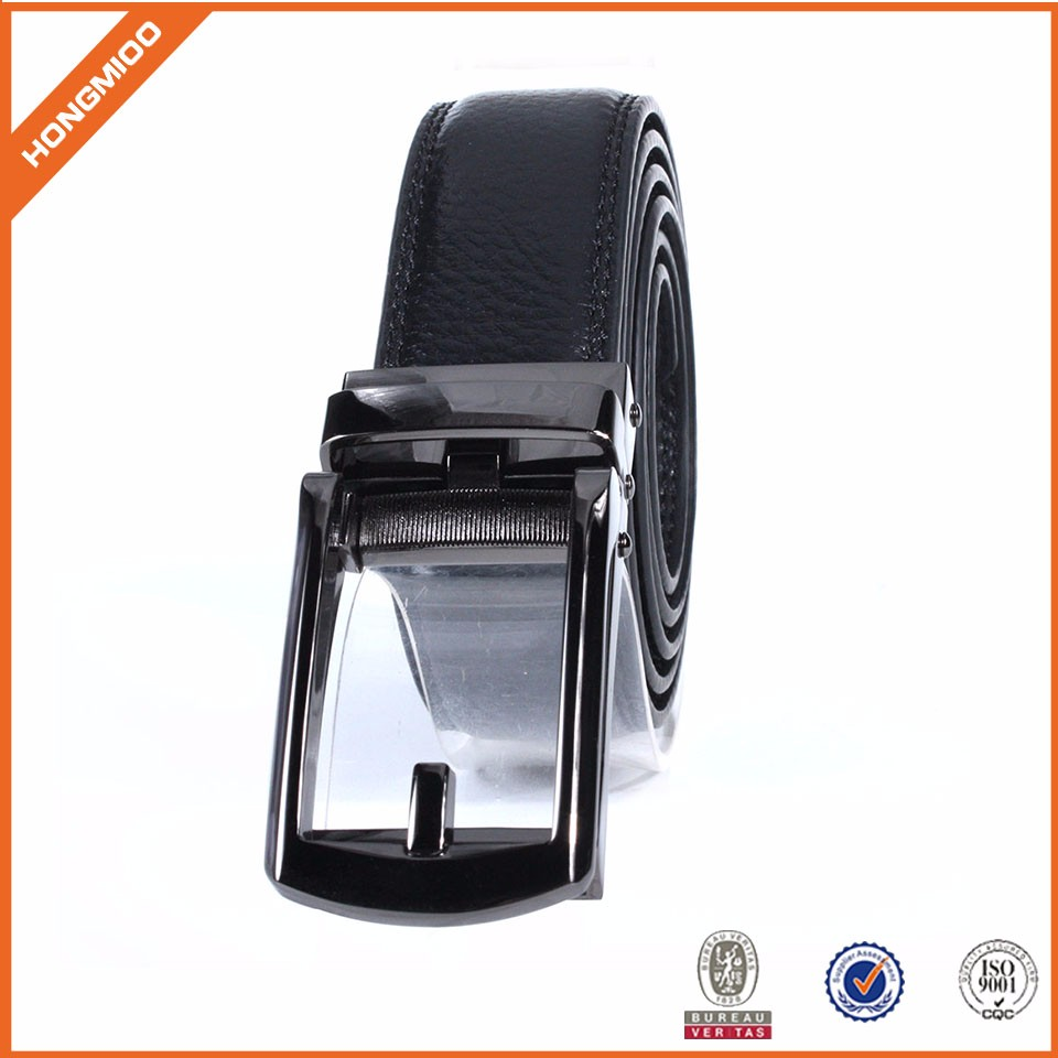 Belt Factory Quality Formal Business Competitive Price Comfortable Automatic Click Genuine Leather Belts