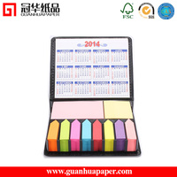 Good Quality New Design Cheapest Sticky Note Pad with Calendar