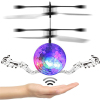 New Design Stlyle Flying Ball LED Music Flying Fairy Toy Ball Helicopter