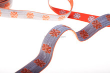 Woven stretch elastic ribbon