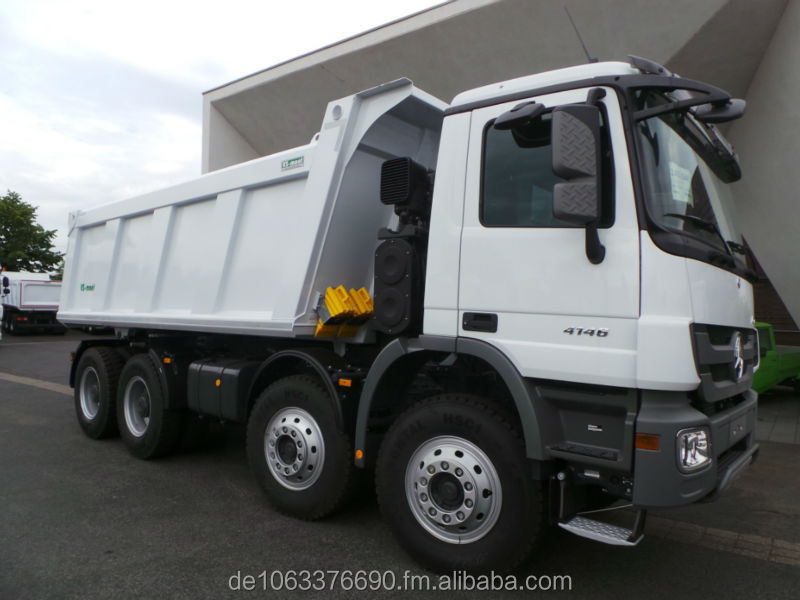 Mercedes-Benz 4846 K 8x4 VS Mont Tipper 20m3