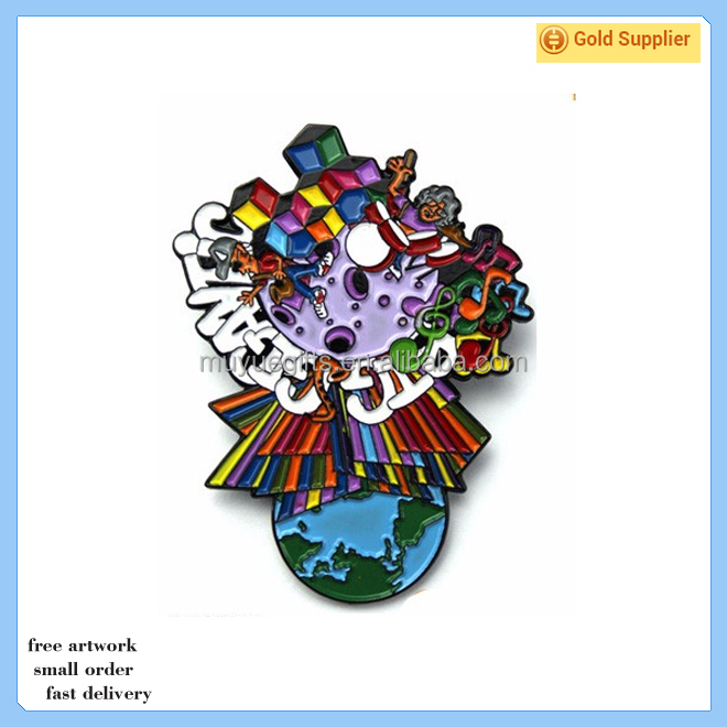 New product China factory hot selling soft enamel DIY lapel pin