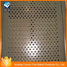 alibaba china market 3mm Hole Galvanized Perforated Metal Mesh/Laser cut decorative screen for wall art