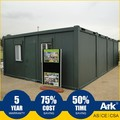 Ark Top Quality Good Price Long Lifespan Flatpack Prefabricated Steel Oil Field Portable ticket booths