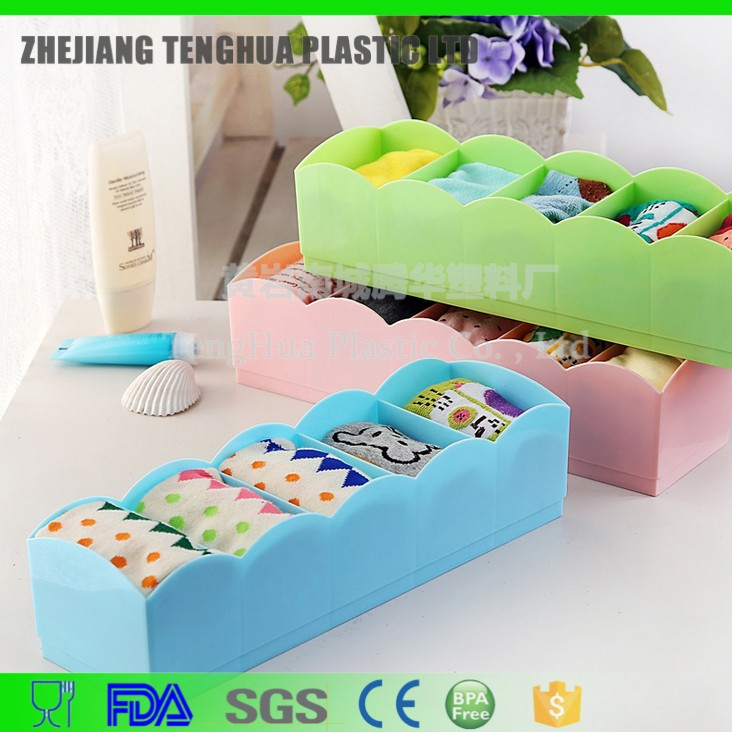 daily use product plastic storage container/ storage box for socks household