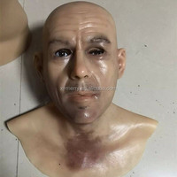 wonderful party silicone mask handsome man self disguise