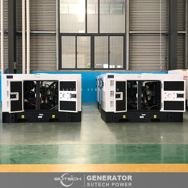home use water-cooled 25 kva silent diesel generator price with Yangdong engine YSD490D