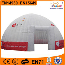 giant outdoor inflatable construction air dome tent for sale