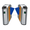 CE Approved Flap Barrier Turnstile Gate with IR Sensor,alarm,passage turnstiles gates