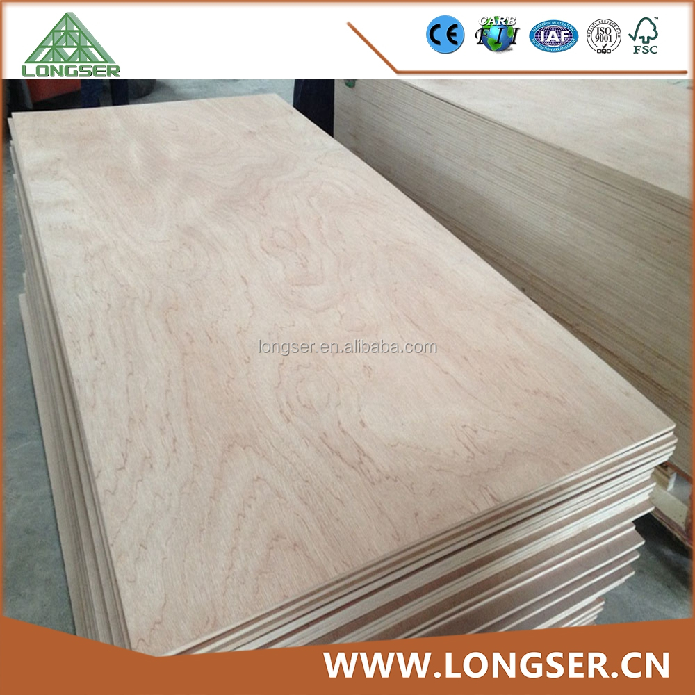 4ft*8ft 16mm commercial plywood cutting board