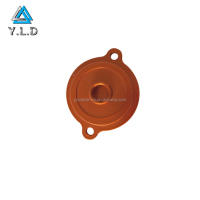 Custom Made Orange Anodizing CNC Machining Aluminum Motorcycle Spare Part