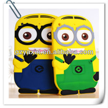 Despicable me minion case for samsung s4,minion case for ipad 2 3 4 for ipad protective case