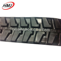 Excavator ,bulldozer used small rubber track