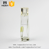 empty luxury cosmetic glass bottle packaging 100ml perfume spray bottle