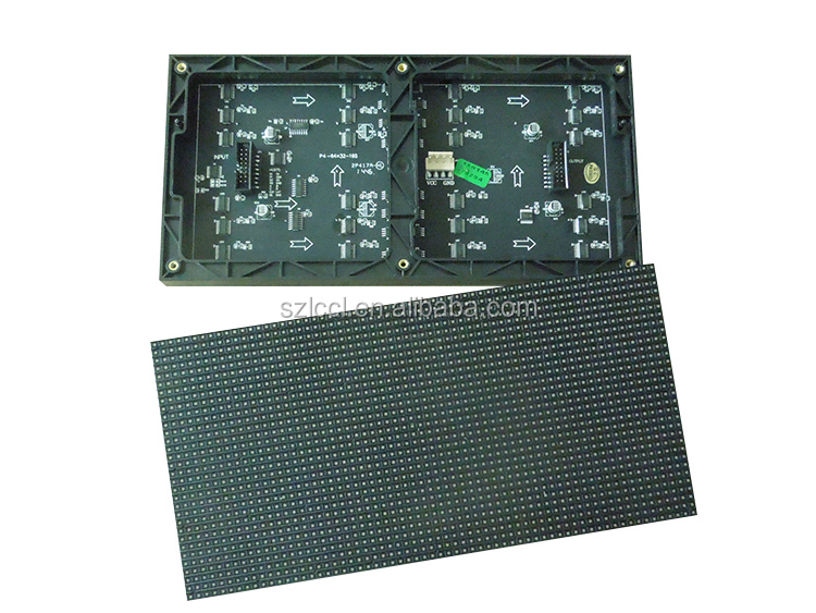 High Density indoor P4 LED Information Electronic Wall Display Board