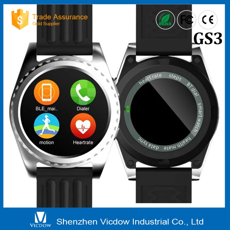 Latest New Black Support Ios And Android Mobile Smart Watch