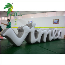 Advertising Inflatable Letters / Floating Billboard Balloons / Inflatable Floating Billboard