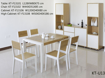 2016 New Design Bamboo And Wood Europen Style Modern Dining Table Furniture S