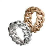 Golden jewelry chain ring chain jewelry design