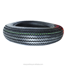 china maufacturer top quality sawtooth pattern motorcycle tire 4.50-17 with inner tube or tubeless