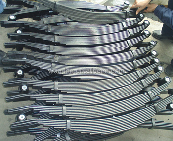 Conventional Type 694mm Steel Leaf Spring of Light Trailer