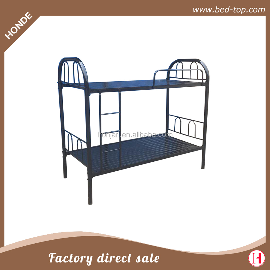 Whole Piece Kneel Base Camping Steel Bunk Bed Cot