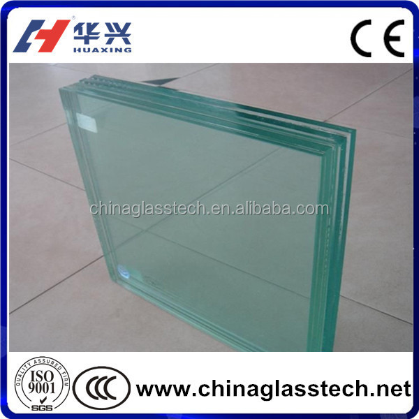CE/CCC/BV/ISO VSG Safety Glass Laminated Glass Thickness