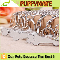 Wholesale high quality metallic competitive dog p chain