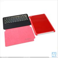 hot products 2014 new 5mm Ultra-thin Aluminum Bluetooth Keyboard leather Case for iPad Mini/ipad mini 2 with retina