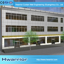 Engineering Company 2015 Aluminium Composite Panel Cladding Curtain Wall