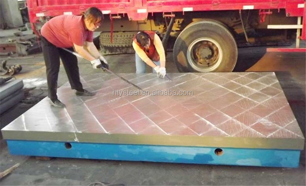 Precision Inspection Table HT250 Cast Iron Lapping Plate