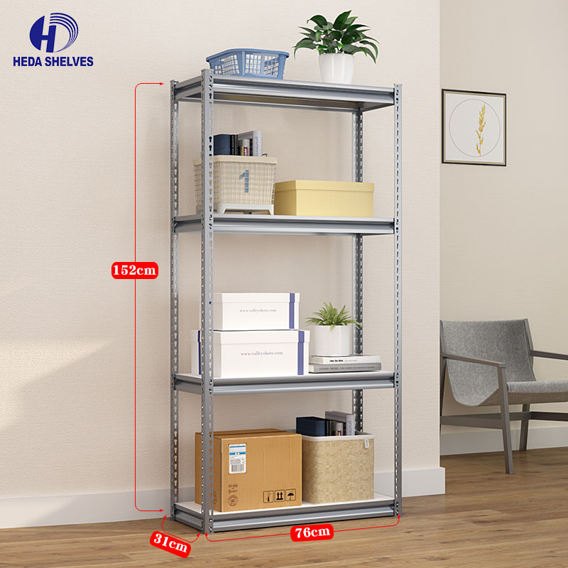 Adjustable steel warehouse storage rack and shelf for sale