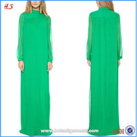 2015 fashion muslim clothing women dress pictures long sleeve dress floor length dress