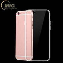 Wholesale Ultra-thin Transparent TPU Phone Cover for iphone 7 TPU Case 0.5mm