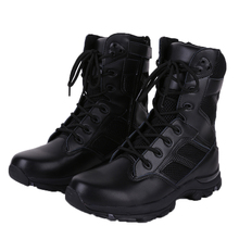 Tactical military use war wolf outdoor combat boots military dersert jungle tatical boots